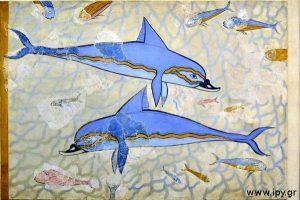 Μινωικά δελφίνια