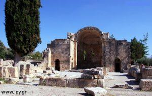 Αρχαίος ναός Αγίου Τίτου Γόρτυνα