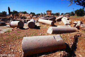 Αρχαίες κολώνες Γόρτυνα