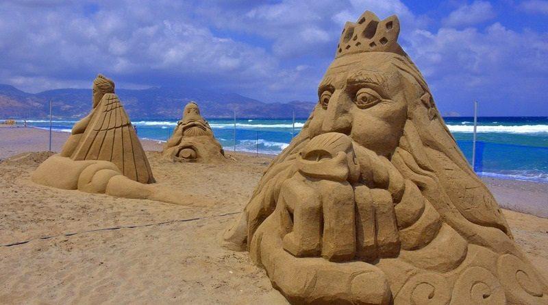 πρώτο-φεστιβάλ-γλυπτικής-άμμου-Αμμουδάρα-Αύγουστος-2016