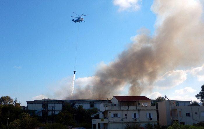 Φωτιά-Πανεπιστήμιο-Κρήτης