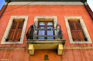 μπαλκόνι στις Αρχάνες