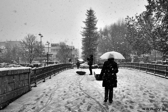 χιονισμένα Τρίκαλα