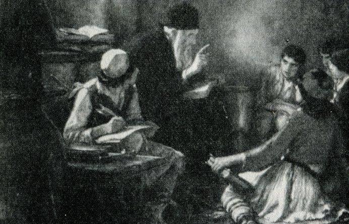 Το κρυφό σχολειό στην Κρήτη