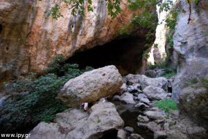 Γρα σπηλιάρα φαράγγι Βενεράτου