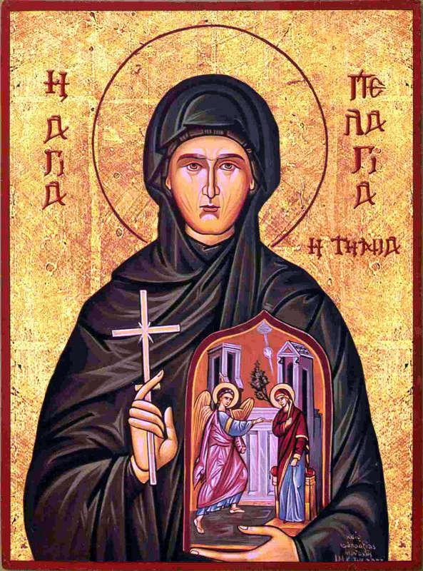 Ιερά Μονή Κεχροβουνίου και η Οσία Πελαγία Τήνου - www.ipy.gr