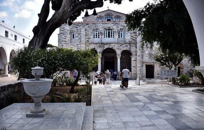 Η ιστορία του αρχαίου και μεγαλοπρεπούς ναού της Παναγίας της Εκατονταπυλιανής στην Πάρο