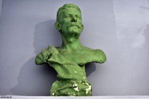 Ιωάννη Λαμπαδίτη Προτομή που αποτελεί αυτοπροσωπογραφία Πρόπλασμα σε γύψο