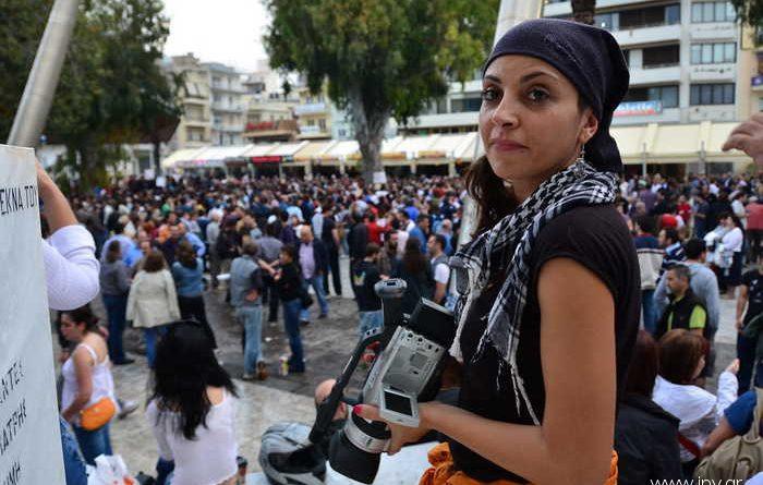Οι Αγανακτισμένοι στην πλατεία Ελευθερίας του Ηρακλείου. (Φώτο)