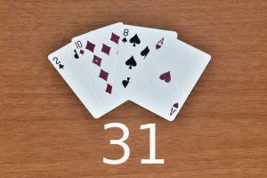 πως παίζετε η 31 με τράπουλα