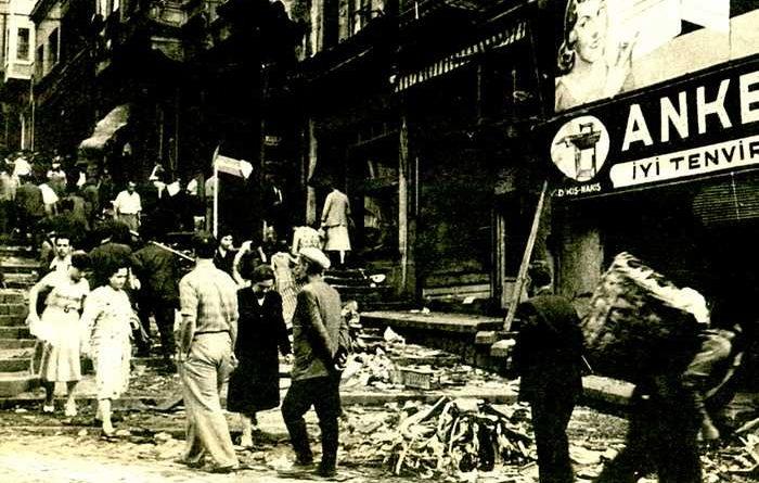 Κωνσταντινούπολη 6 προς 7 Σεπτεμβρίου 1955