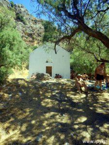 εκκλησία παραλία Πρέβελη