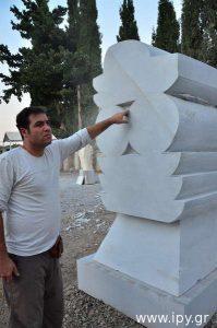Συμπόσιο-Γλυπτικής-Βενεράτου-Αιγύπτιου-καθηγητή-Γλυπτικής-Essam-Darwish