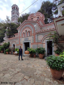 Ιερά Μονή Αγίου Γεωργίου Σελλινάρι