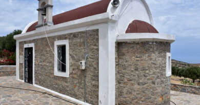 Ο πρώτος Ναός του Αγίου Ιωάννου του Ρώσου στην Κρήτη