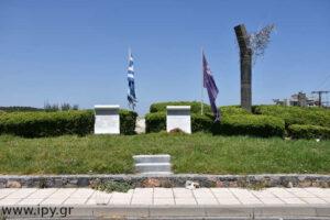 Το μνημείο της απαγωγής του Γερμανού στρατηγού Κράιπε στις Πατσίδες προς Αρχάνες