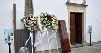 Κηδεία Νίκου Χριστινίδη 25-10-2021